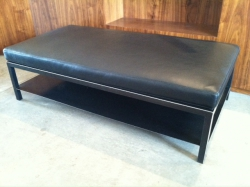 bench with cushion
