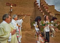 Pojoaque Pueblo, Feast Day, Dancing