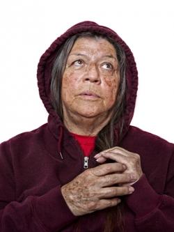 Pojoaque Pueblo, Portrait, Patricia, Pat
